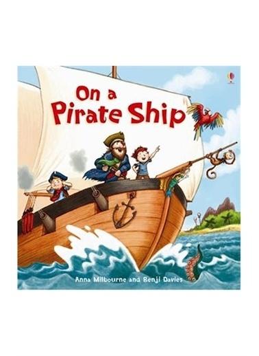 The Usborne The Usborne On A Pirate Ship Beyaz